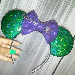Fabulous mermaid ears headband